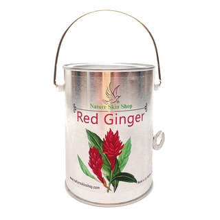 Red Ginger Soy Wax Tin Can 10-ounce Candle