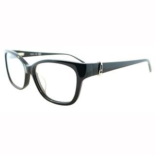 Calvin Klein Womens CK 5745 001 Black Cateye Plastic Eyeglasses-54mm