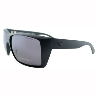 Emporio Armani Mens EA 9797 DL5 Matt Black Square Plastic Sunglasses-61mm