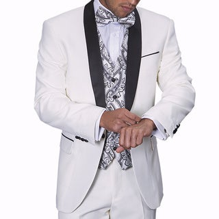 Statement Men's Capri White Tuxedo Suit