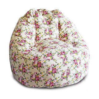 Glamour Premium 'Cotton 6' Large Bean Bag Chair