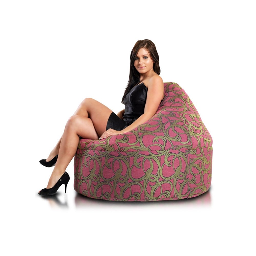 Super Cake Premium Balloon Pink Large Bean Bag Chair Frankydiablos Diy Chair Ideas Frankydiabloscom