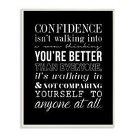 Stupell lulusimonSTUDIO Confidence Boutique Chic Wall Plaque