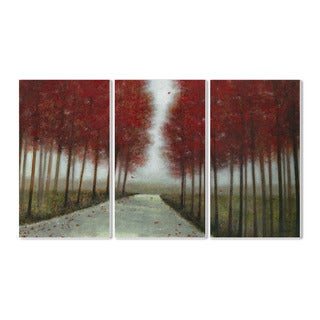 Stupell October Drive' 3-piece Triptych Wall Plaque Set