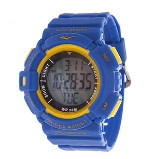 Everlast HR4 Heart Rate Monitor with Transmitter Belt Digital Sport Blue Watch