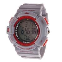 Everlast HR4 Heart Rate Monitor with Transmitter Belt Digital Sport Grey Watch
