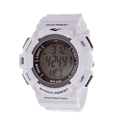 Everlast HR4 Heart Rate Monitor with Transmitter Belt Digital Sport Orange Watch