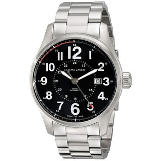 Hamilton Men's H70615133 'Khaki Field' Automatic Stainless Steel Watch