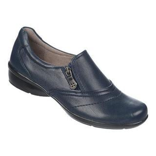 Women's Naturalizer Clarissa Classic Navy Sheep Premium Leather