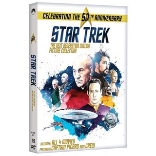 Star Trek: The Next Generation Motion Picture Collection (DVD)