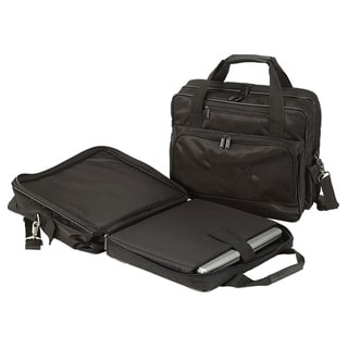 Goodhope TSA Checkpoint-Friendly Zip-Around 15-inch Laptop Briefcase