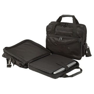 Goodhope TSA Checkpoint-Friendly Zip-Around 15-inch Laptop Briefcase