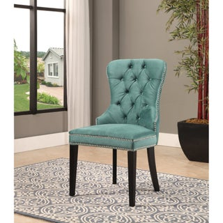 Abbyson Versailles Tufted Velvet Dining Chair (4 options available)