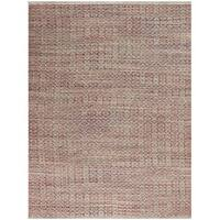 Pescadero Rust Flat-weave Rug (8' x 10') - 8' x 10'