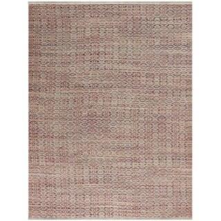 Pescadero Rust Flat-weave Rug (5' x 8')