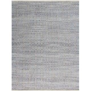 Pescadero Polo Blue Flat-weave Rug (5' x 8')