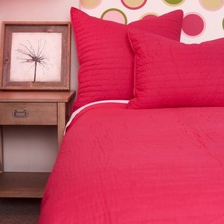 Basic Cotton Quilt Set Pink
