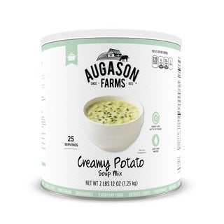 Augason Farms Creamy Potato Soup Mix 44 oz #10 Can