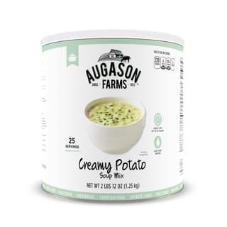 Augason Farms Creamy Potato Soup Mix 44 oz No.10 Can https://ak1.ostkcdn.com/images/products/10855834/P17895344.jpg?impolicy=medium