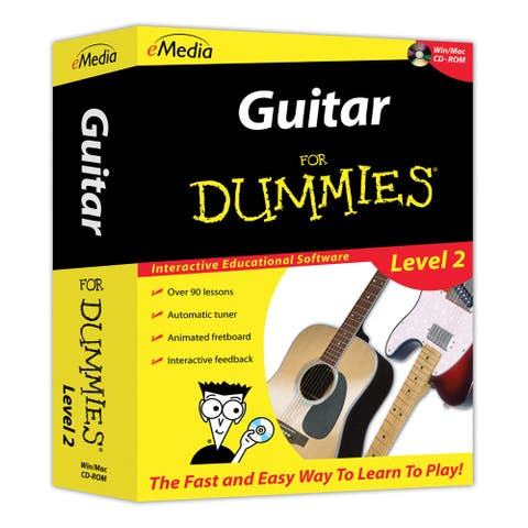 Guitar For Dummies Level 2 (CD-ROM) - Yellow