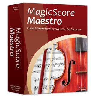 MagicScore Maestro Music Notation Software (Windows)|https://ak1.ostkcdn.com/images/products/10855859/P17895422.jpg?impolicy=medium