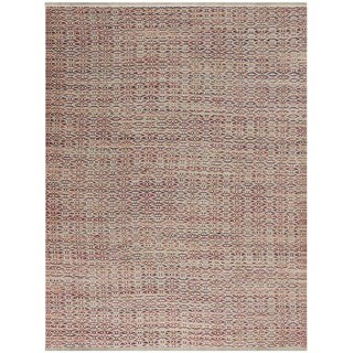 Pescadero Rust Flat-weave Rug (3' x 5')