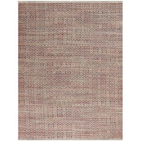 Pescadero Rust Flat-weave Rug - 2' x 3'