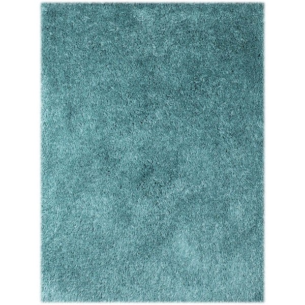 Palo Alto Microfiber Polyester Shag Area Rug Overstock 10877990