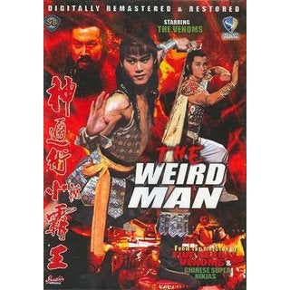 The Weird Man movie DVD Ricky Cheng Tien-Chi Chang Cheh kung fu ninja action