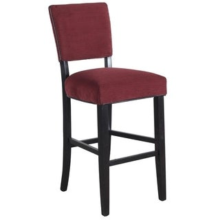 Powell Red Pepper Raya Counter Stools (Set of 2)