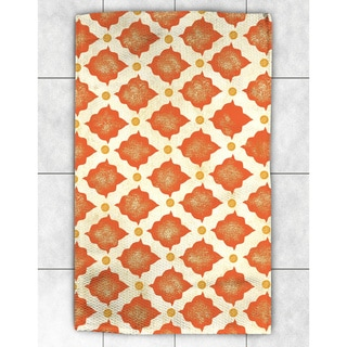 Spice Moroccan Pattern Accent Rug (4' x 6')