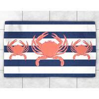 Crab Trio Accent Rug