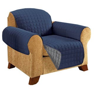 Quilted Reversible Chair Furniture Protector