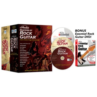 eMedia Rock Guitar Collection 2 Volume Set with Bonus DVD