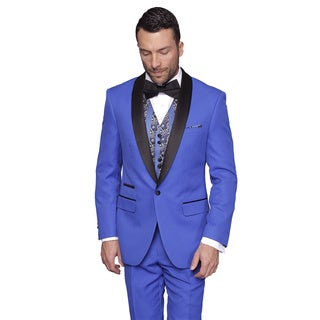Statement Men's Capri Royal Tuxedo Suit