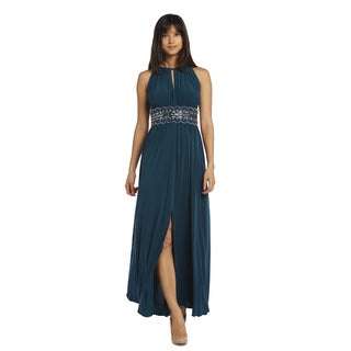 R&M Richards Long Beaded Dress