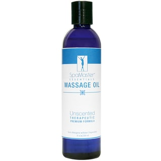 Master Massage 8-ounce Unscented Massage Oil