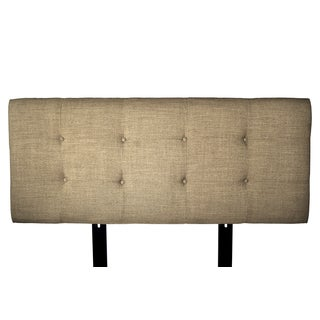 MJL Furniture Ali Button Tufted Allure Pebble Upholstered Headboard