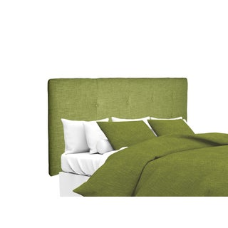 MJL Furniture Ali Button Tufted Key Largo Grass Upholstered Headboard