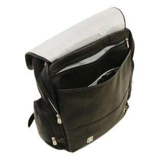Piel Leather Vertical Laptop Backpack