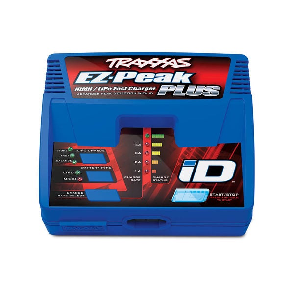 EZ-Peak Plus 4-amp NiMH/ LiPo Fast Charger with iD Auto Battery Identification