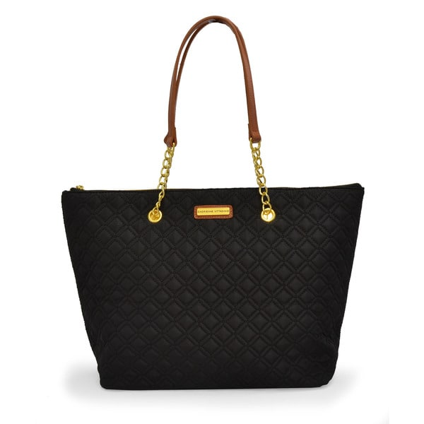 Shop Adrienne Vittadini Quilted East West Tote Free