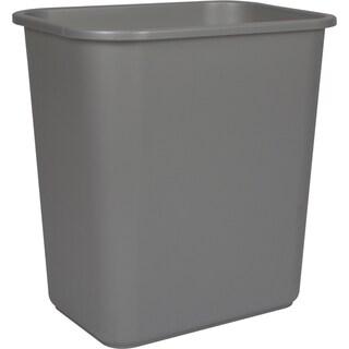 Medium Waste Basket Black (Pack of 6)
