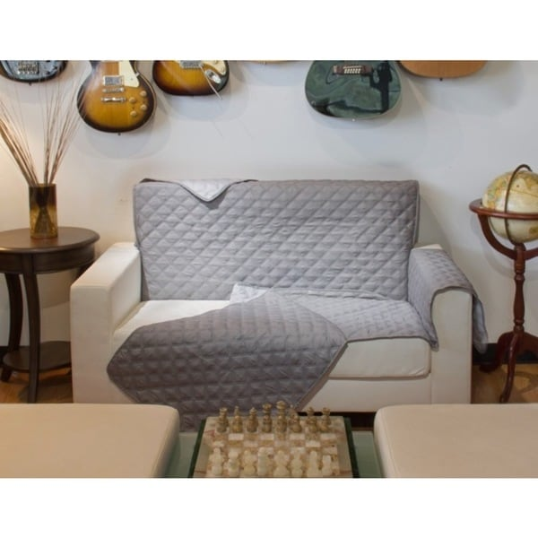 Shop Perfect Fitting Diamond Quilted Reversible Chair