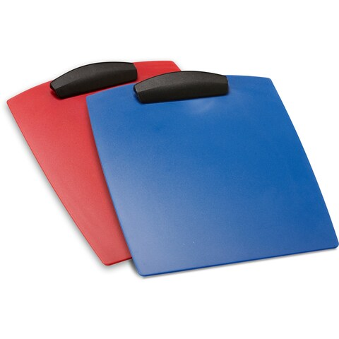 Storex Hard Poly Clipboard /Letter size (12 units/pack)
