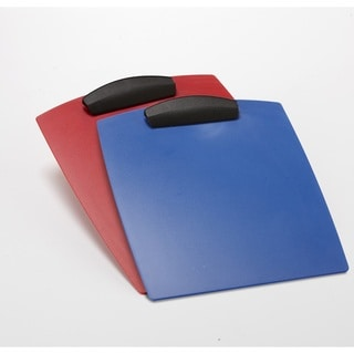 Storex Hard Poly Clipboard Letter (Pack of 12)