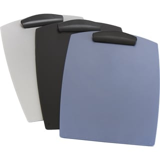 Storex Hard Poly Clipboard Legal (Case of 12)