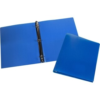 "Storex Poly Binder/ 0.5""-Inch/ Multi Color"