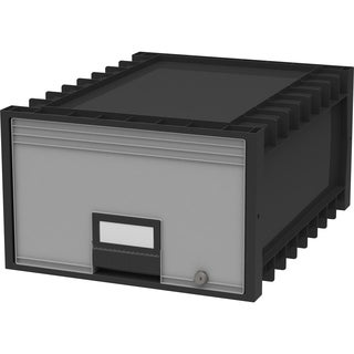 Plastic Archive Storage Box Legal Size 24-Inch Drawer