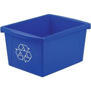 4 Gallon (15L) Recycle Bin (Case of 6)